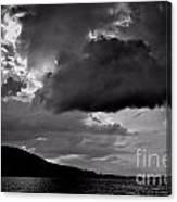 Over Lake Winnipesaukee Canvas Print