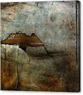 Over The Brick Wall One Canvas Print