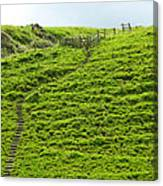 Over The Hill To Far Away Canvas Print
