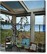 Over The Lagoon Canvas Print