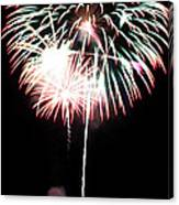 4th Of July Fireworks 4 Canvas Print