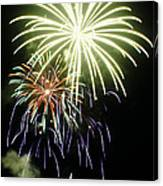 4th Of July Fireworks 5 Canvas Print