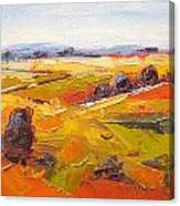 Overberg Autumn Canvas Print