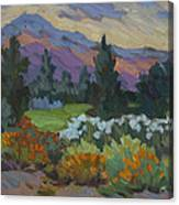 Overcast Light In Santa Barbara Canvas Print