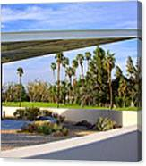 Overhang Palm Springs Tram Station Canvas Print