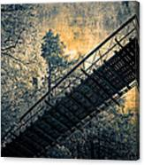Overhead Bridge Canvas Print