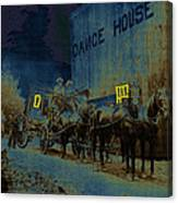 Overland Stage Raiders Homage 1938 Stagecoach 1894 Photo Canvas Print