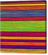 Overlay Stripes Canvas Print