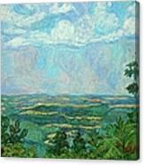 Overlook Near Peaks Of Otter Canvas Print