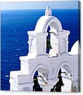 Overlooking Aegean Canvas Print