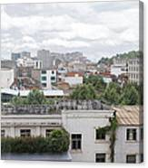 Overlooking The City Canvas Print