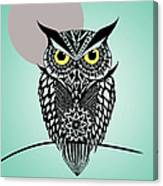 Owl 5 Canvas Print