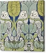 Owls, 1913 Canvas Print