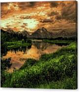 Ox Bow Bend Canvas Print