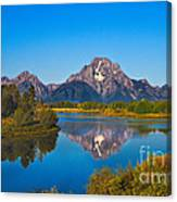 Oxbow Bend II Canvas Print
