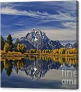 Oxbow Reflections Canvas Print