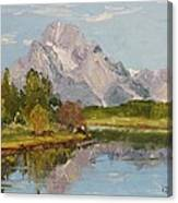 Oxbow View Mt. Moran Canvas Print
