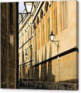 Oxford Alleys Canvas Print