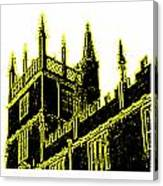 Oxford England 1986 Yellow Spirals Art1 Jgibney The Museum Gifts Canvas Print