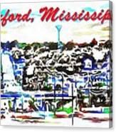 Oxford Mississippi 38655 Canvas Print