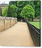 Oxford Walkway 5952 Canvas Print