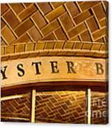 Oyster Bar Canvas Print