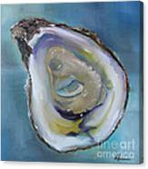 Oyster On The Half Shell Canvas Print