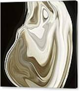 Oyster Shell No 3 Canvas Print