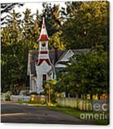 Oysterville Church Canvas Print