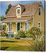 Oysterville Home 9 Canvas Print