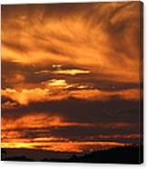 Ozark Sunset Canvas Print