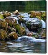 Ozark Waterfall Canvas Print