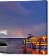 Ozona Pier  Canvas Print