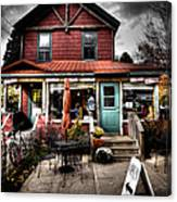 Ozzie's Coffee Bar - Old Forge Ny Canvas Print