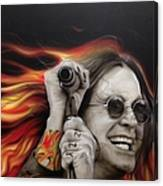Ozzy's Fire Canvas Print
