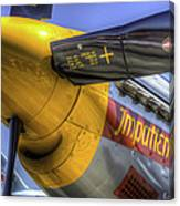 P-51 Impatient Virgin Canvas Print