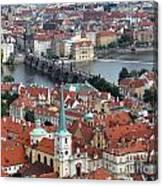 Prague - Charles Bridge Canvas Print