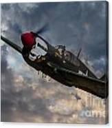P40 Warhawk Tribute Canvas Print