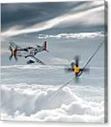 P51 Mustang - Old Crow Canvas Print