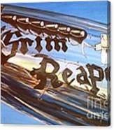 P51 Mustang Grim Reaper Warbird Canvas Print