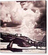 P51 Ray Of Hope Canvas Print