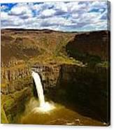 Pa Louse Falls Canvas Print