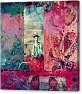Pablo And Frida's Day Dream Canvas Print