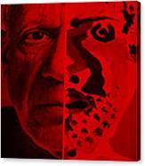 Pablo Red Canvas Print