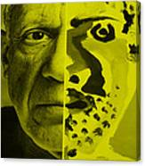 Pablo Yellow Canvas Print