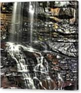 Pachinko - Blackwater Falls State Park Wv Autumn Mid-morning Canvas Print