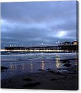Pacific Beach Pier Canvas Print
