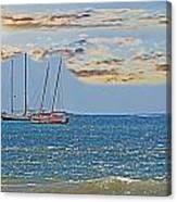 Pacific Coast Costa Rica Canvas Print