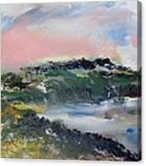 Pacific Coast Evening Sun Canvas Print