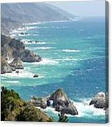 Pacific Coast Highway Mini Arch Rock Canvas Print